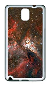 custom case carina nebula stars TPU White case/cover for samsung galaxy note 3 N9000