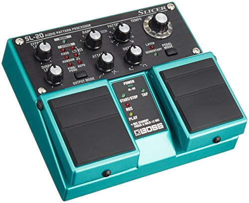 Boss Sl20 Slicer - Boss SL-20 Slicer Pedal Audio Pattern Processor