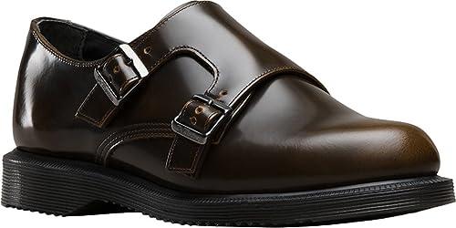 ec2db9077 Dr.Martens Womens Pandora Double Monk Correa Shoe Tan Arcadia Size UK 6 (7