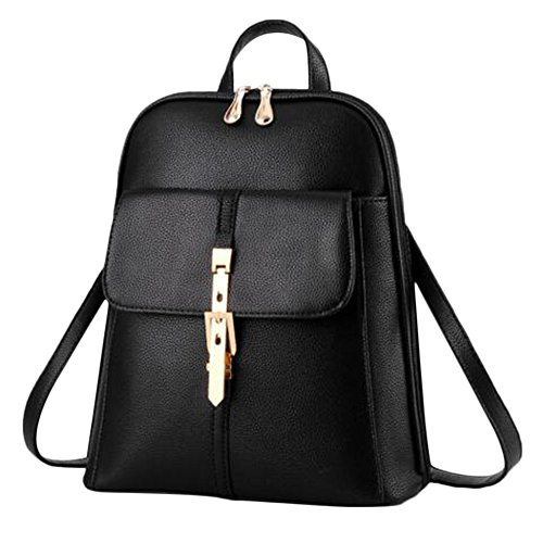 Backpack Myleas Rucksack Shoulders Travel Bag Mini Rose Bag Women's Leather Satchel Girl School xrRq0S6x