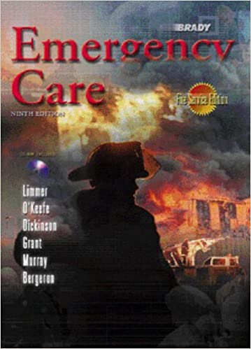 Book Emergency Care: Fire Service Version CD Package