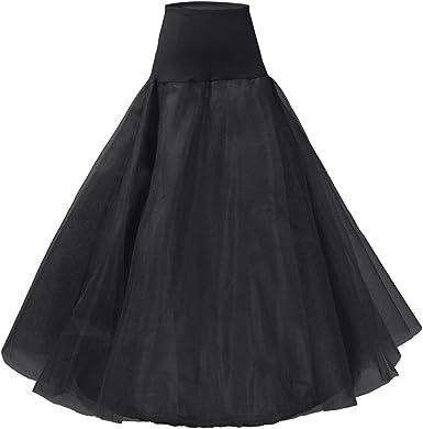 Andream A Line Petticoats For Women Full Length Slips For Bridal Dress Underskirt Crinoline Wedding Accessories Pt01 Bk Black At Amazon Women S Clothing Store,Summer Floral Dresses For Weddings