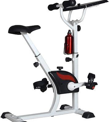 ZJDU Bicicleta Estacionaria Estacionaria Magnética Monitor De ...