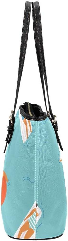 Men Travel Bags Comfortable Sunbathing Swimsuit Beach Leather Hand Totes Bag Causal Handbags Zipped Shoulder Organizer For Lady Girls Womens Luxury Handbags