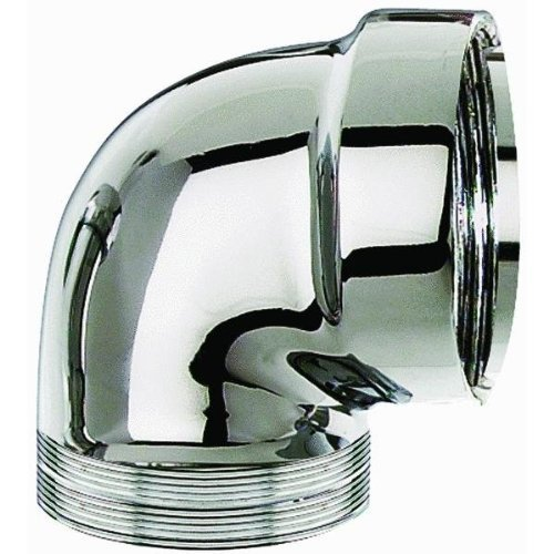 Trap Sink Elbow (Cast Brass Sink Trap Elbow Chrome Finish by Plumb Pak)