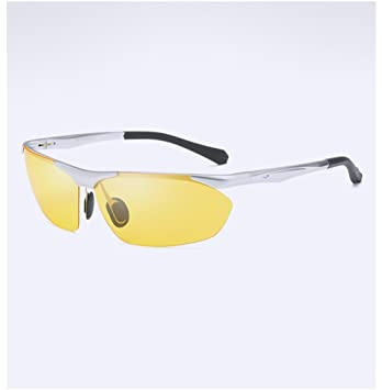 Gafas De Visión Nocturna De Conducción Para Hombres, Espejo Polarizador HD Antideslumbrante, Gafas De