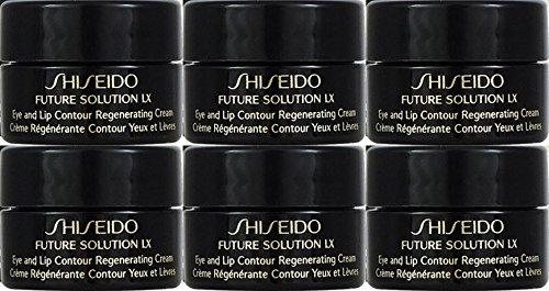 Shiseido Future Solution LX Eye and Lip Contour Regenerating Cream 2.5ml x 6 bottles (15ml) Travel ()