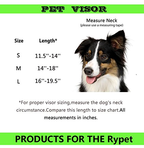 Product image of RYPET Dog Baseball Hat Adjustable Outdoor Sports Sun Protection Hat Cap Small to Medium-sized Breeds Pet, Red - Large