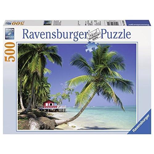 Ravensburger 14389 - Puzzle Classique - Plage Punta Bonita - 500 Pièces
