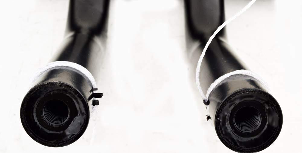 DEMONS CYCLE Black 1-1//4 Drag Pullback Handlebars 10 Rise T-Bars Harley-Davidson