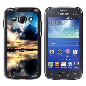 Be Good Phone Accessory // Dura Cáscara cubierta Protectora Caso Carcasa Funda de Protección para Samsung Galaxy Ace 3 GT-S7270 GT-S7275 GT-S7272 // Sunset Beautiful Nature 68