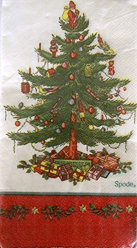 Spode Christmas Tree Guest / Dinner Paper Napkins - 32cnt by CR. Gibson