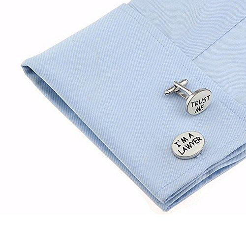 I'm Lawyer Wedding Cufflinks Links Gift Pair Cuff Cdet Silver Business Dress Mens Womens 1 Cufflinks ZqwUFxwIS