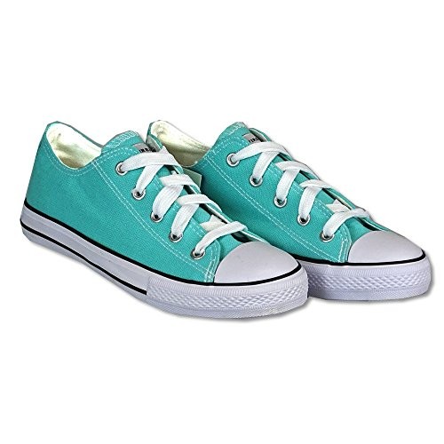 Firefly Zapatillas Canvas Low verde menta