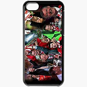 Personalized iPhone 5C Cell phone Case/Cover Skin Alex Ferguson FIFA Football Black