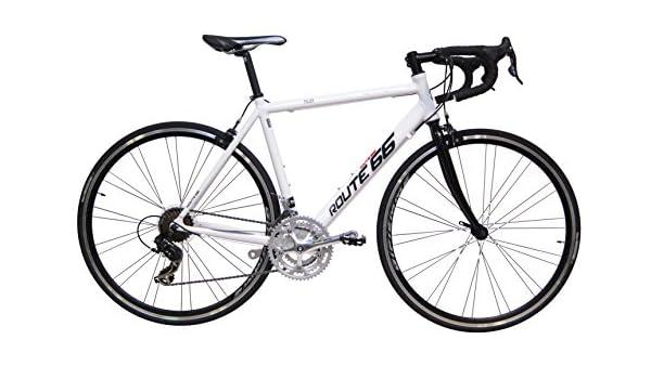 bicicleta-carretera-orus-talla-51-21-velocidades-blanca: Amazon.es: Deportes y aire libre