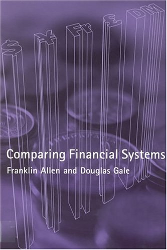 Comparing Financial Systems  Mit Press