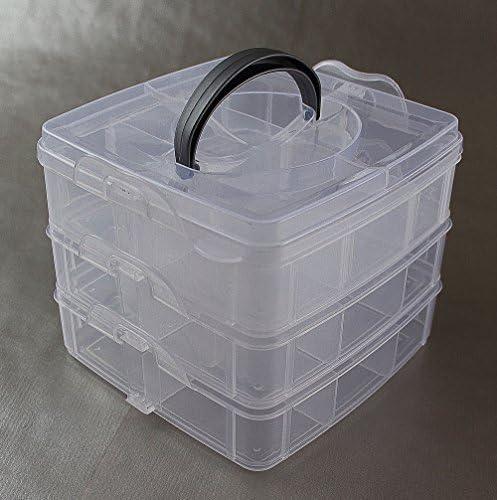 Caja de plástico Caja de Pesca Cebo Caja Accesorio Caja Angel Box Tacklebox Kein (jcb650 K): Amazon.es: Deportes y aire libre