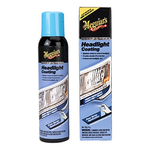 Meguiar's G17804 Keep Clear Headlight Coating, 4 (Clear Coating)