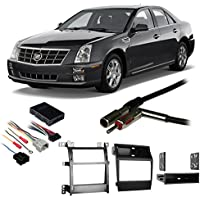 Fits Cadillac STS 2005-2011 Single/Double DIN Harness Radio Install Dash Kit