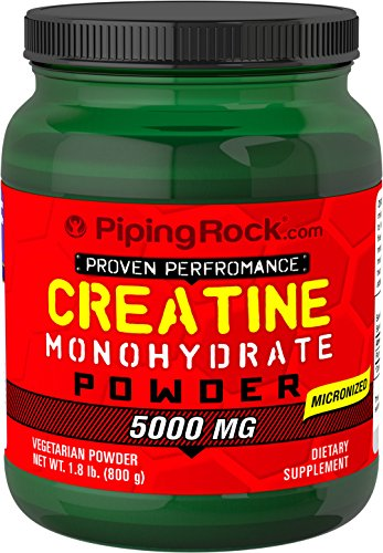 Universal Micronized Creatine Powder (Piping Rock Creatine Monohydrate Powder 1.8 lb (800 grams) Bottle Micronized Vegetarian Dietary Supplement)
