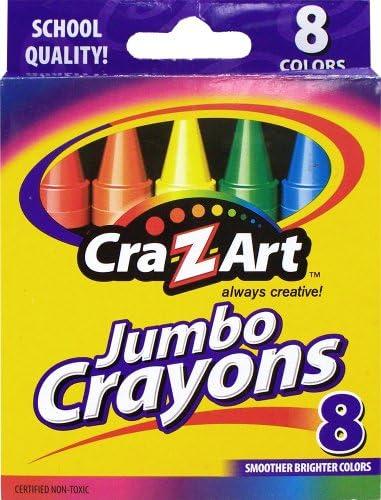 Cra Z art Jumbo Crayons Count 10203