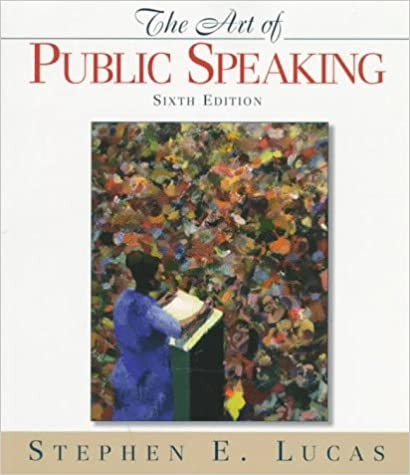 Book Art of Public Speaking