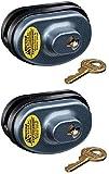 Master Lock 90KADSPT-P413 Keyed Alike Gun Trigger Locks - Quantity 2