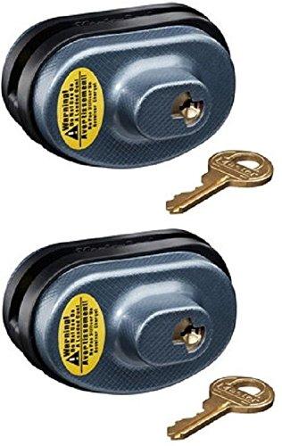 Master Lock 90KADSPT-P413 Keyed Alike Gun Trigger Locks - Quantity 2 by Master Lock
