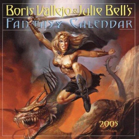 Boris Vallejo & Julie Bell's Fantasy Calendar 2005 (Workman Wall Calendars) pdf epub