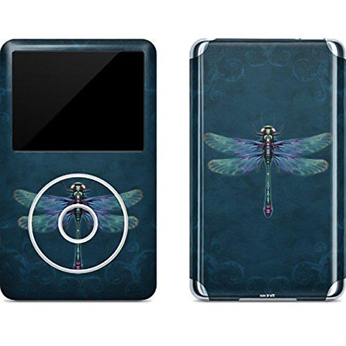 Ipod Classic Device Skin - Fantasy & Dragons iPod Classic (6th Gen) 80 & 160GB Skin - Mystical Dragonfly Vinyl Decal Skin For Your iPod Classic (6th Gen) 80 & 160GB