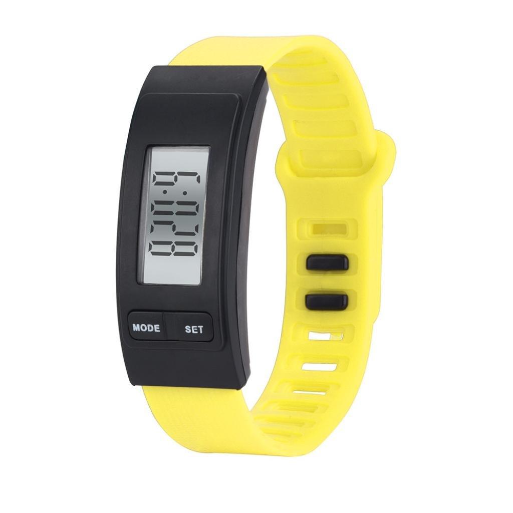 Longra☆ Run Step Watch Pulsera Podómetro Calor Contador Digital ...