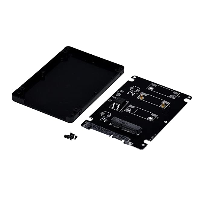 LANDFOX Mini PCIe mSATA SSD To 2.5 Inch SATA3 tarjeta adaptadora ...