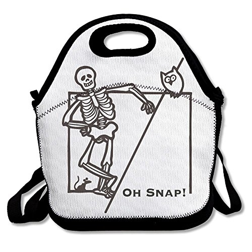 Chinese Food Delivery Costume (Soft Friendly Lunch Box Food Bag Gourmet Handbag Oh Snap Halloween Owl Funny Skeleton\r\n Cute For Girls Hailin Tattoo)