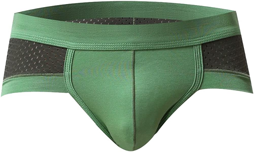 Costume Uomo Slip Vita Bassa Mesh Traspiranti Boxer Underwear da Sportivo