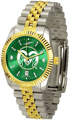 Colorado State Rams Executive AnoChrome Men's Watch by SunTime