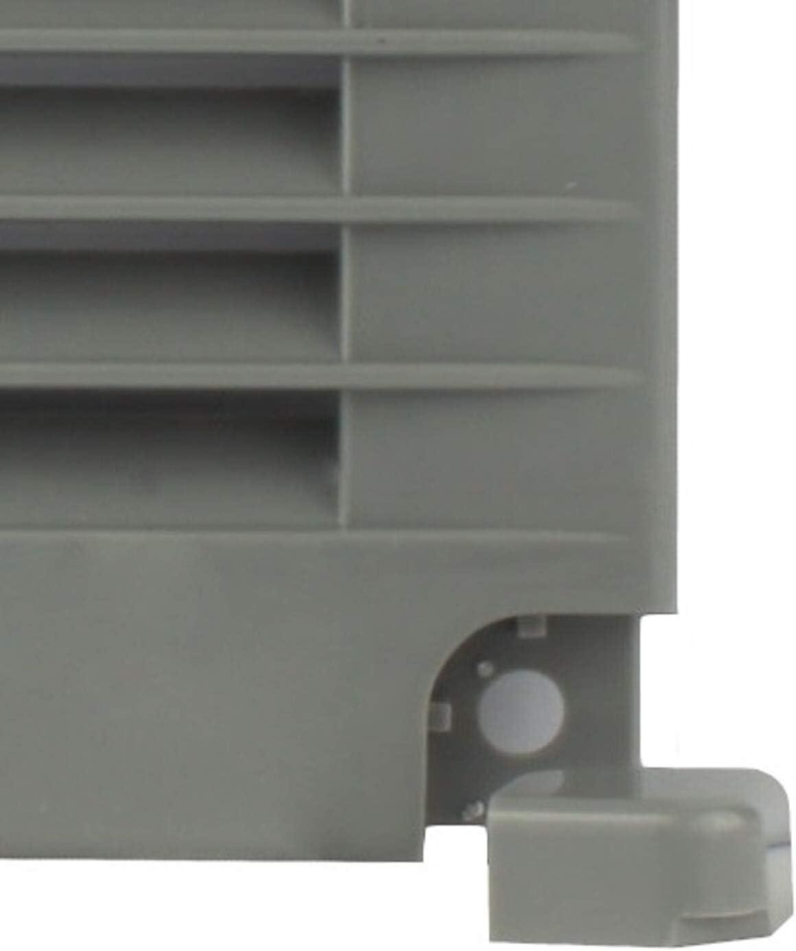 MKK L/üftungsgitter Abluftgitter Lamellengitter Insektenschutz Kunststoff eckig 250 x 250 mm braun Nein