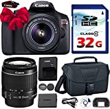 Canon EOS Rebel T6 DSLR 18mp WiFi Enabled + EF-S 18-55mm IS...
