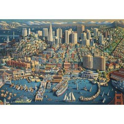 San Francisco Jigsaw MasterPieces Puzzle by MasterPieces Jigsaw f8c3fa