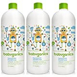 Babyganics Foaming Dish and Bottle Soap Refill, Fragrance Free, 32 Ounce, 3 Pack by Babyganics