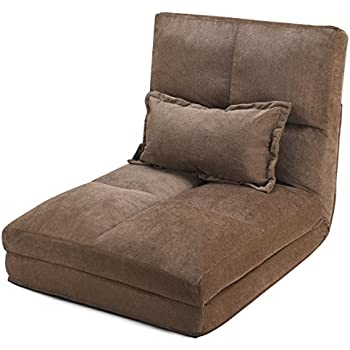 Amazon.com: One-Bedroom Armchair Sofa By Azaleahome Brown ...