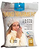 Livefine Hand Warmers – Long-Lasting Air Activated Heat Packs – Up to 10 Hours of Warmth for Outdoor Construction, Winter Sports, Football Tailgating & More – 10 Pack