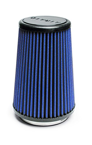 Airaid 703-430 Universal Clamp-On Air Filter: Round Tapered; 3.5 in (89 mm) Flange ID; 7 in (178 mm) Height; 4.625 in (117 mm) Base; 3.5 in (89 mm) (430 Air Filter)