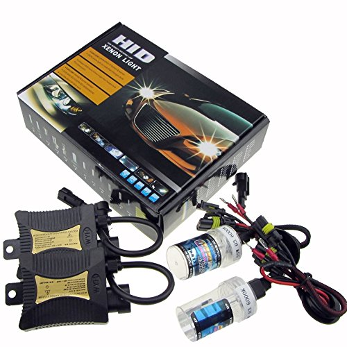 JINYJIA 12V 55W Xenon HID Conversion Kit Headlight for Car Vehicle...