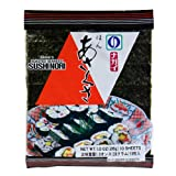 Nagai Sushi Nori Roasted Seaweed, 10 Sheets, 1.0-Ounce Bag (Pack of 8)