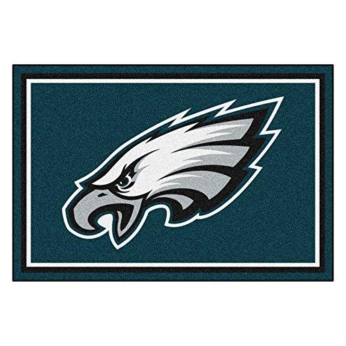 Fanmats NFL Philadelphia Eagles Nylon Face 5X8 Plush Rug