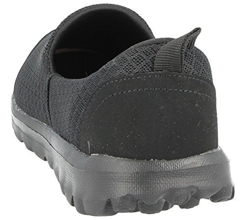 pompe ballerine 3 slip foam Ella go scarpe nbsp; Flexi on Ladies memory mesh comfort misura Mq80ZwoUF