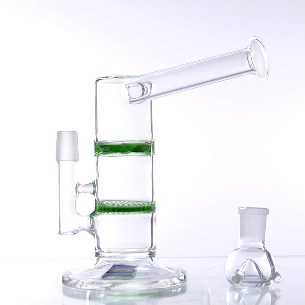 MILISA 7.5 Inch 2-Layer Honeycomb Art Glass