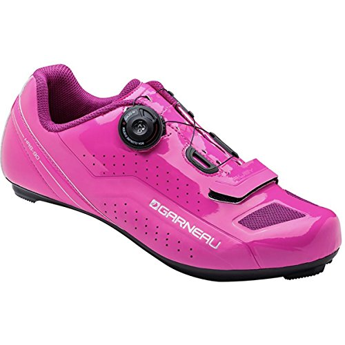 Louis Garneau Womens Ruby Cycling Shoes, Pink Glow, 41 by Louis Garneau