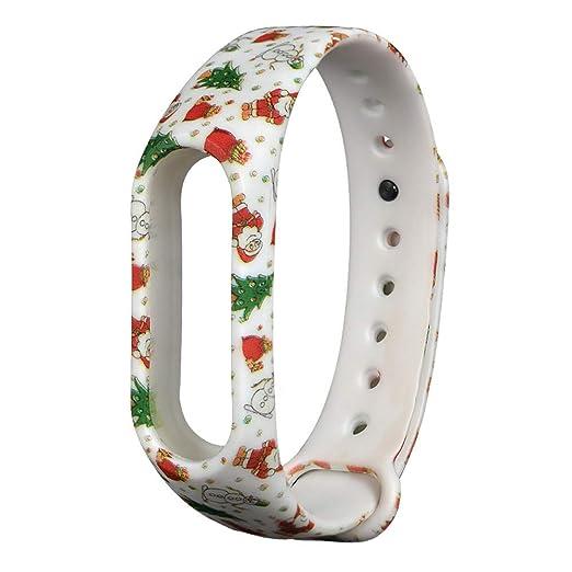 Alt Verano Navidad Reloj de Pulsera para Xiaomi Mi Band 2 ...
